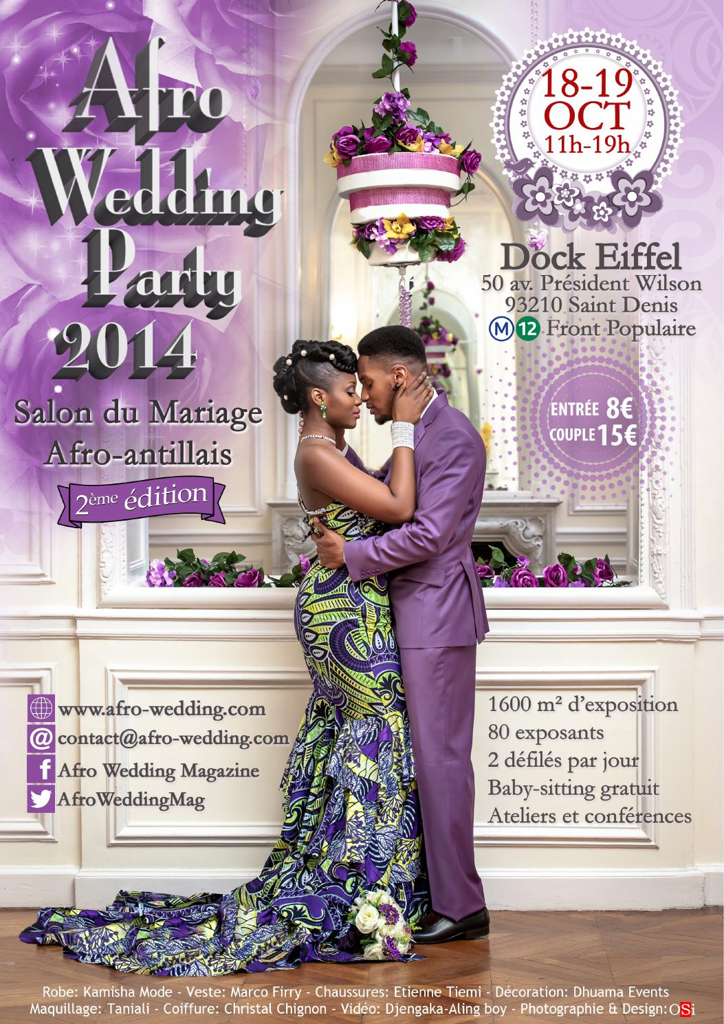 Dossier De Presse Afro Wedding Party 2014 By Afro Wedding Magazine Issuu