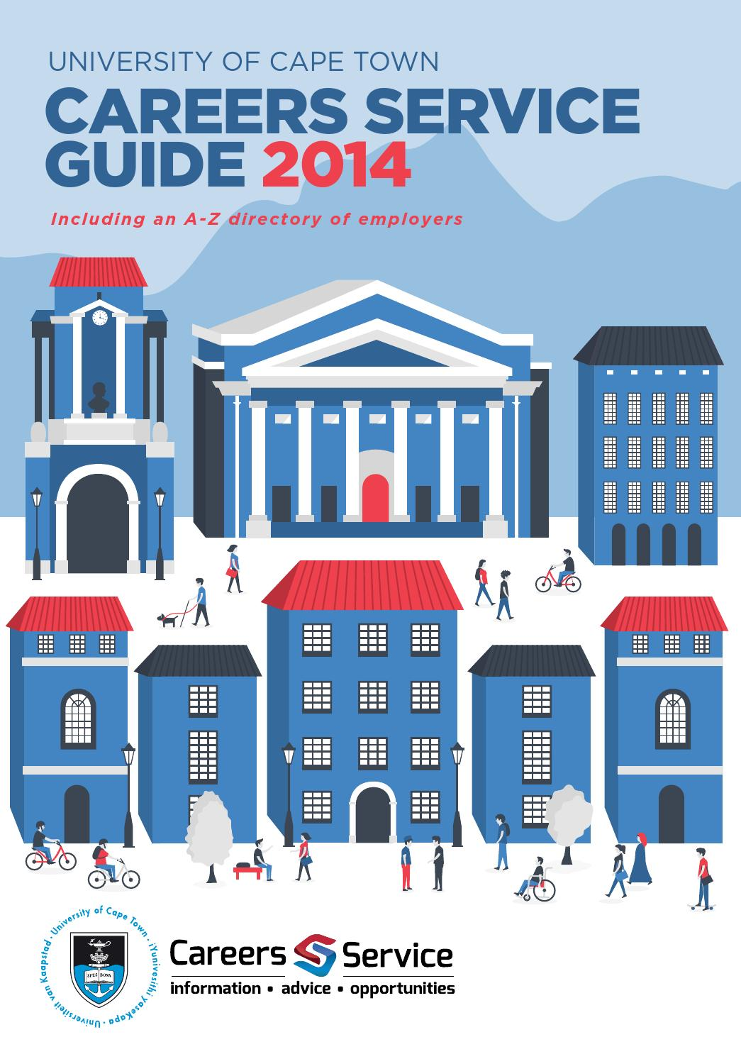 UCT Careers Service Guide 2014 by UCT Careers - issuu