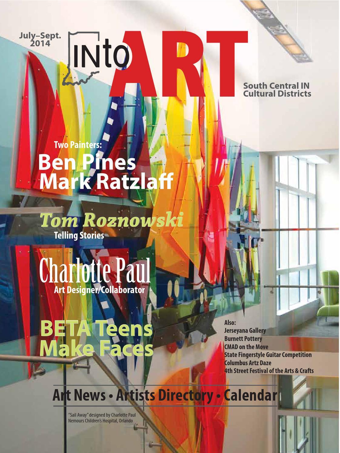July-Sept  2014 INTO ART Magazine by INto Art magazine - issuu