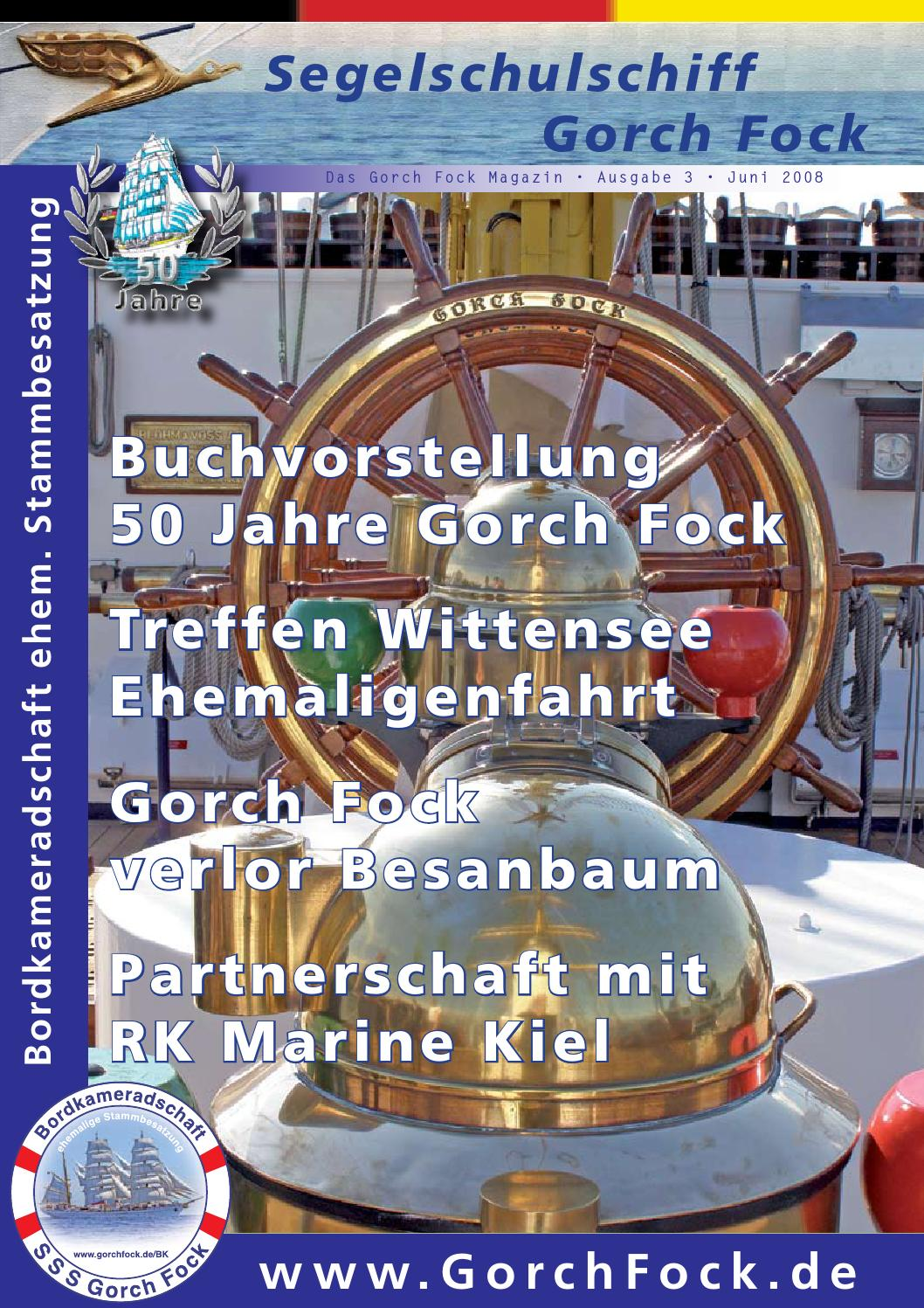 Küchenle Hängend gorch fock magazin 03 by hermann dirkes issuu