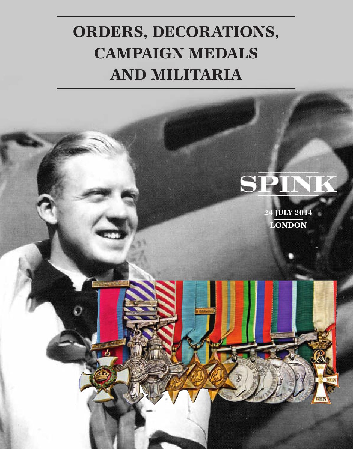 Orders Decorations Campaign Medals and Militaria
