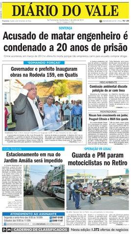 7353 diario quinta feira 03 07 2014 by Diário do Vale - issuu 5de847448d9