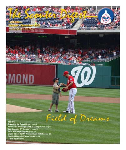 df29a2022430 The Scouter Digest - Fall 2012 by National Capital Area Council - issuu