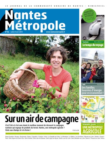 Journal n°52 - Juillet   Août 2014 by Nantes Métropole - issuu 448aaea30c2