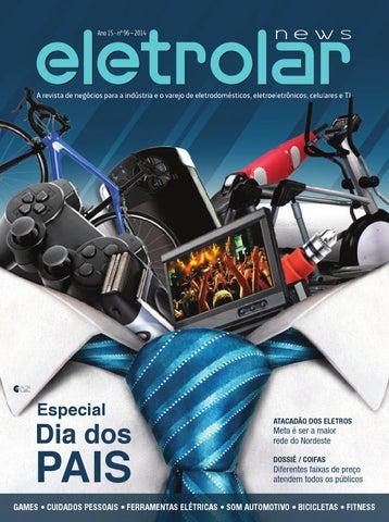 6297da3e6 Revista Eletrolar News - Especial dia dos Pais by Grupo Eletrolar ...