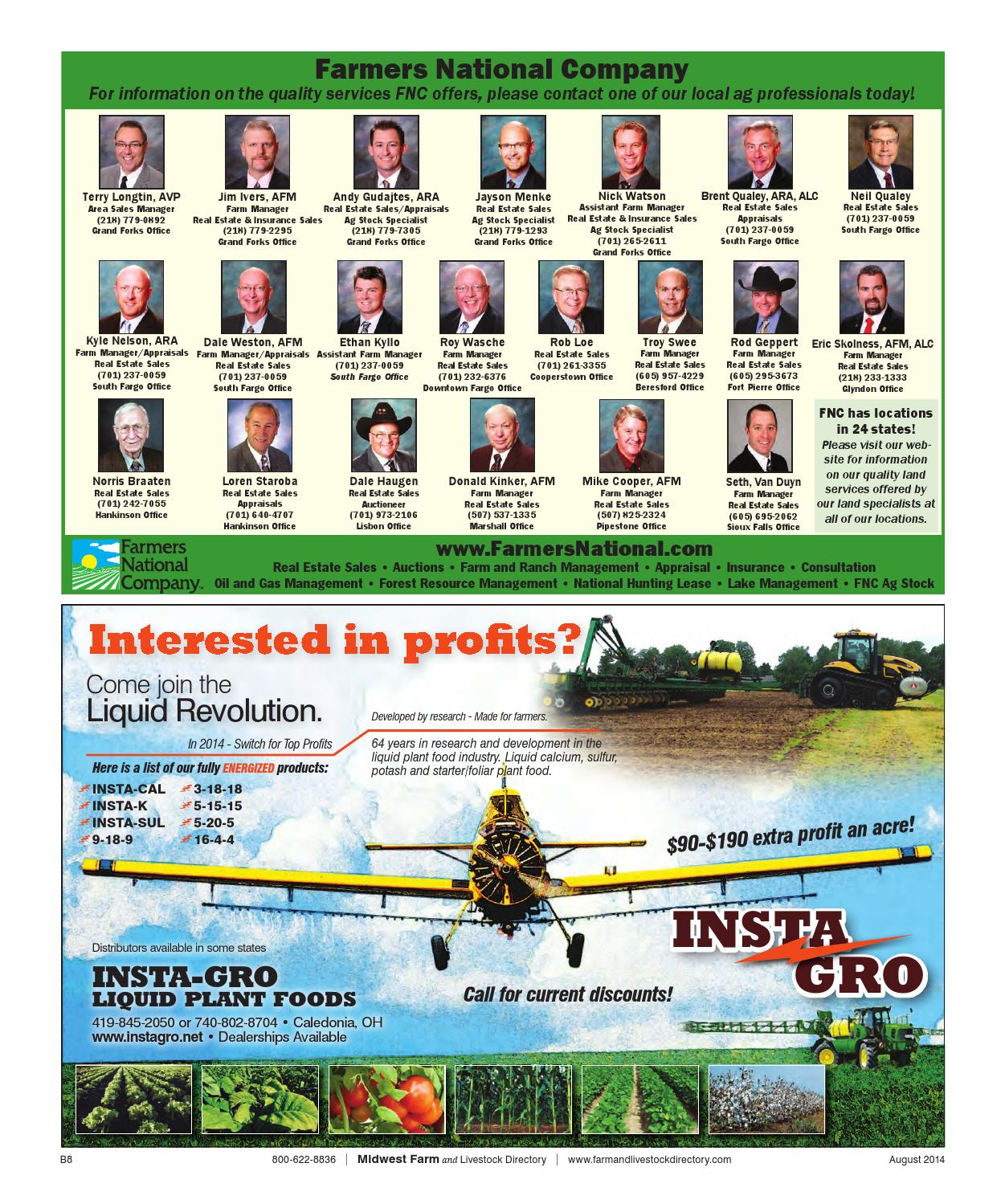Midwest Farm And Livestock Directory | August 2014 by Five