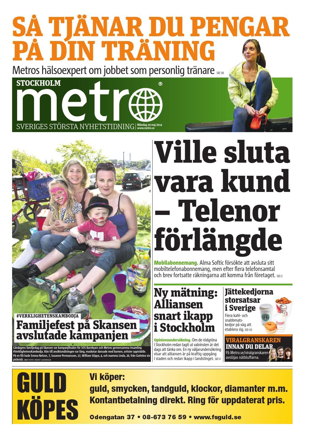 20140519 se stockholm by Metro Sweden - issuu e405d514b3d61