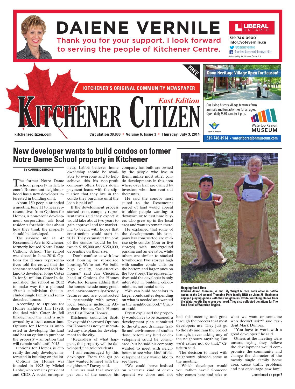 Kitchener Citizen - East Edition - July 2014 by Kitchener Citizen ...