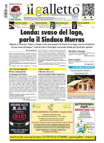 Galletto 1164 del 5 luglio 2014 by Il Galletto Giornale - issuu 13043d3cc643