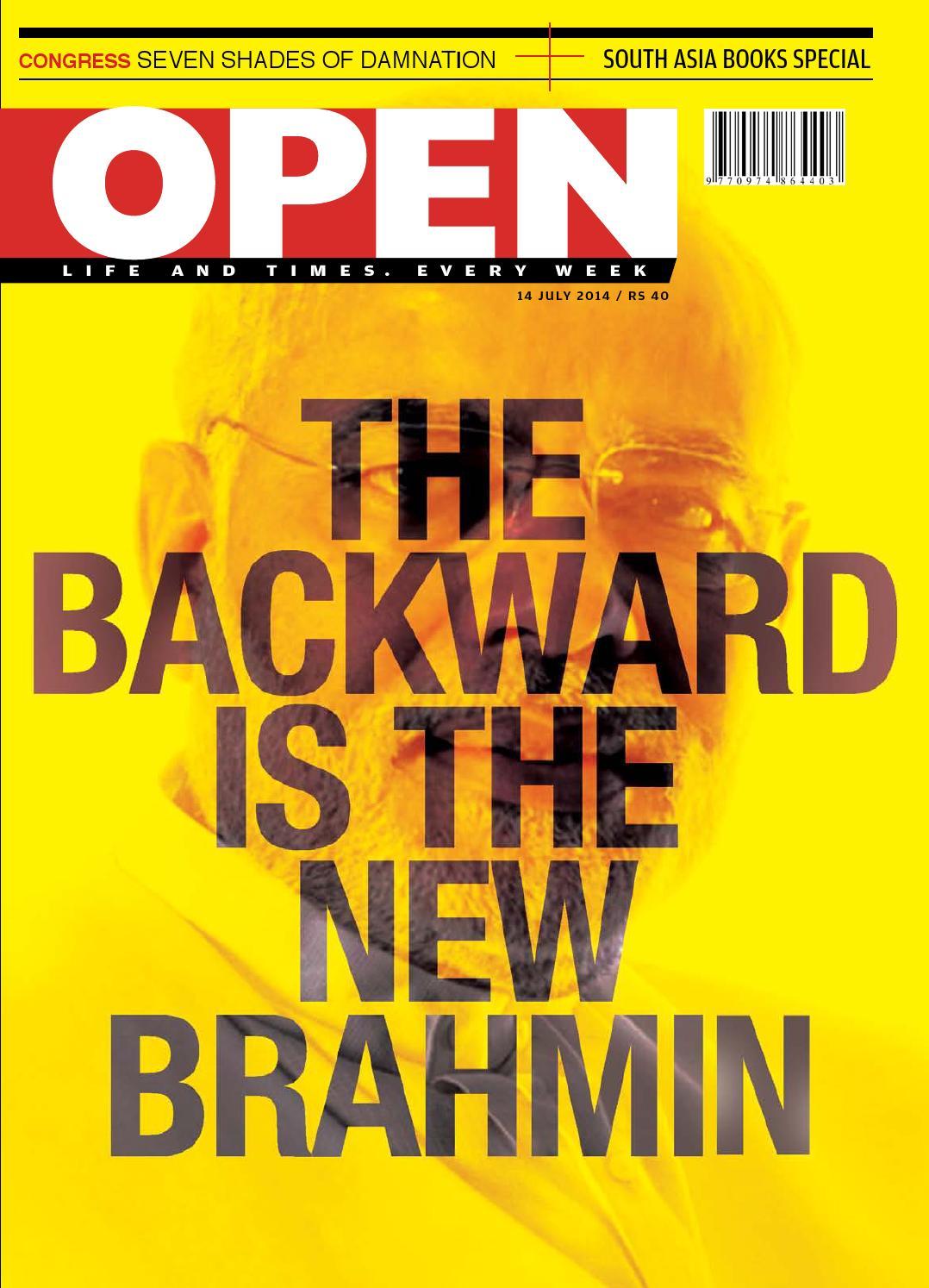 Open Magazine 14 July 2014 By Open Media Network Issuu