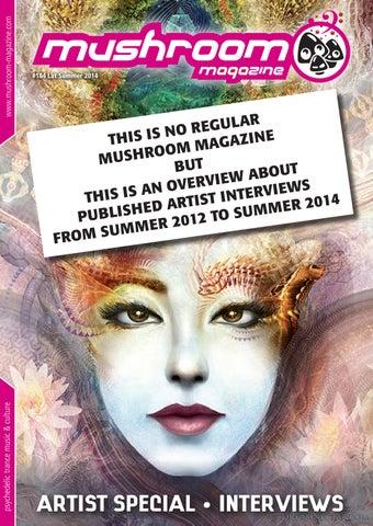 mushroom artist special 2012-2014 by mushroom magazine - issuu