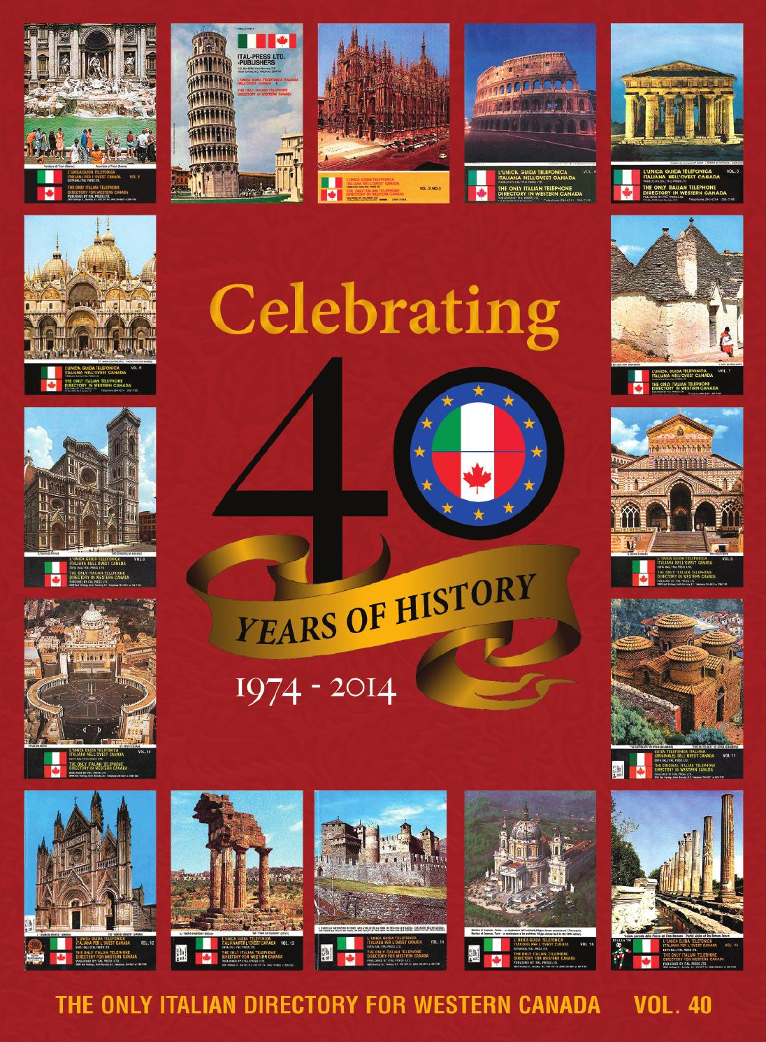 Midvale Heights Bison Celebrate >> 2014 Italian Directory Bc Edition By Italian Directory Issuu