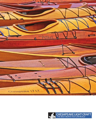 Chesapeake Light Craft Catalog 2014: Wooden Boat Kits