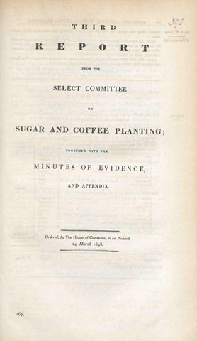 Reports From Committees : Eighteen Volumes. Sugar And Coffee ...