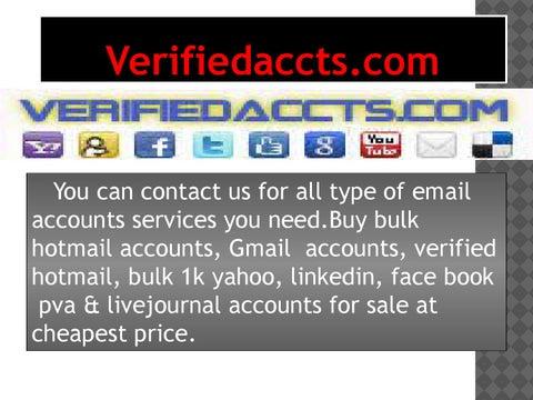 Verifiedaccts  Com- Buy Twitter Accounts by verifiedaccts