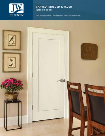 Carved, Molded U0026 Flush Interior Doors Door Designs | Surfaces | Sticking  Profiles | Core Choices | Warranty