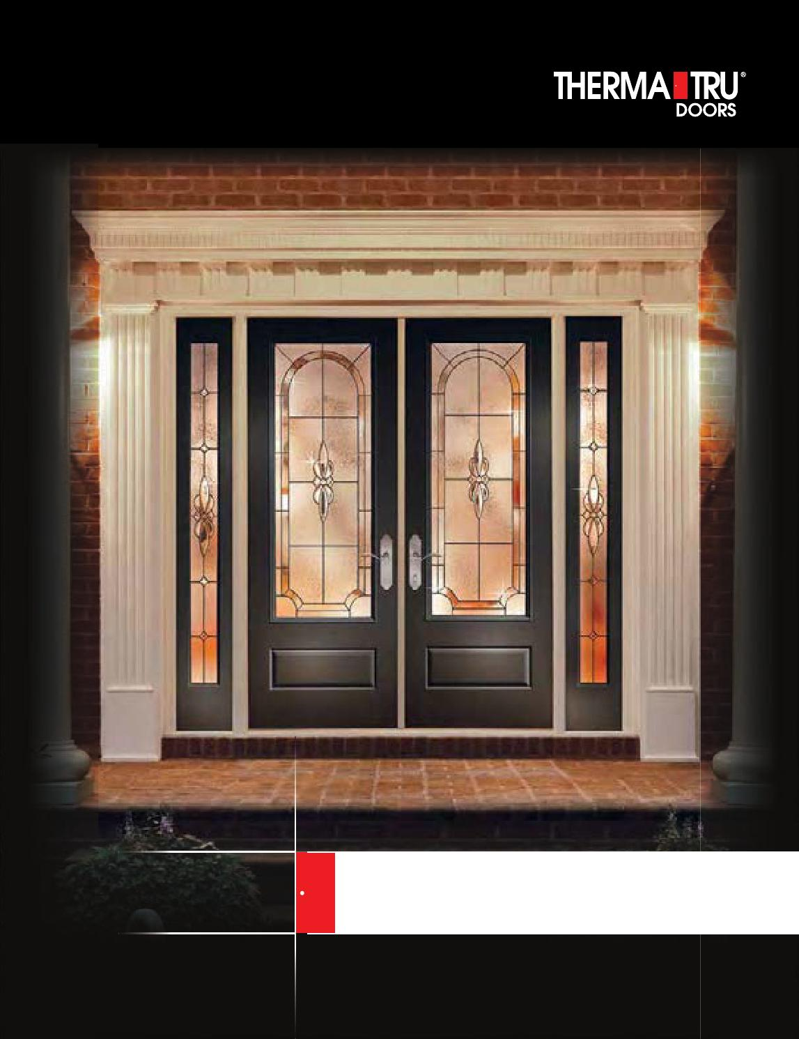 Therma tru entry doors by meek 39 s lumber hardware issuu for Therma tru entry doors