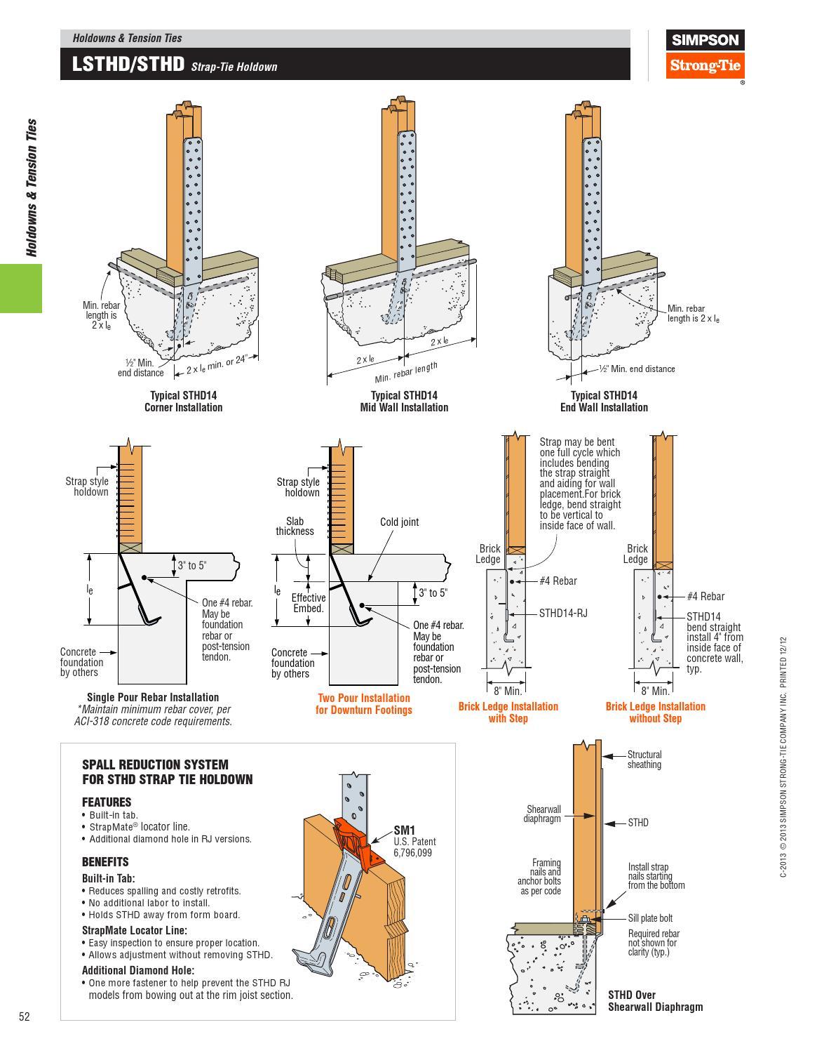 Simpson Strong Tie By Meek S Lumber Amp Hardware Issuu