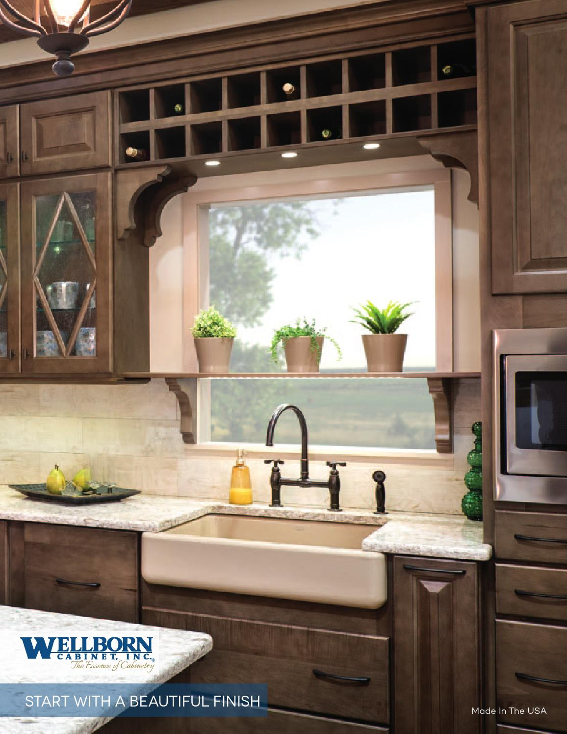 wellborn cabinets by meek 39 s lumber hardware issuu. Black Bedroom Furniture Sets. Home Design Ideas