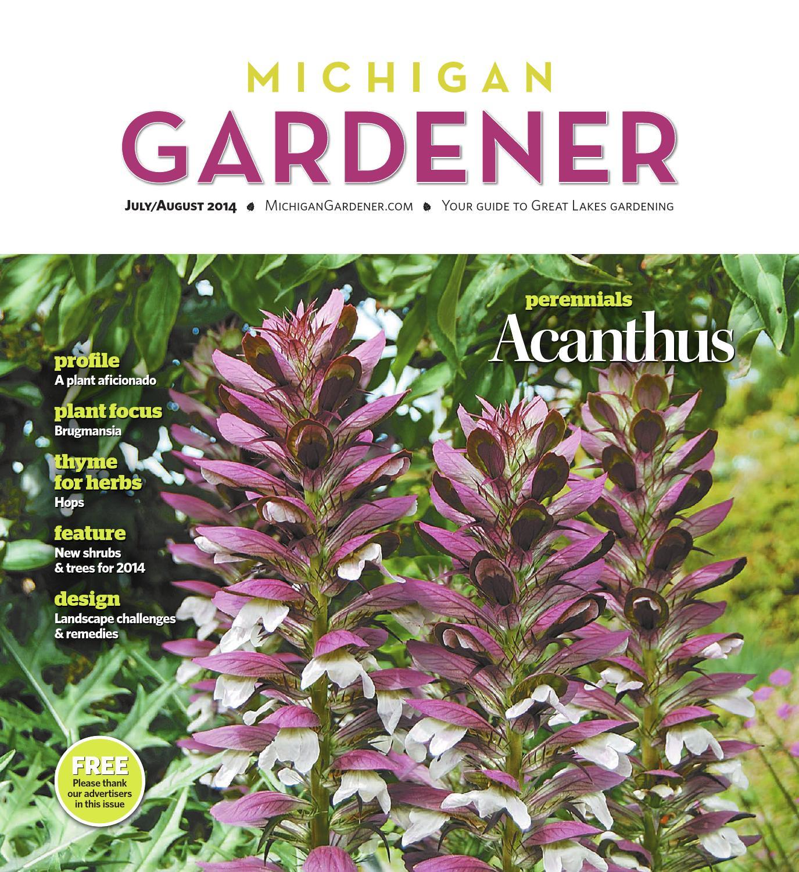 JulyAugust 2014 by Michigan Gardener issuu