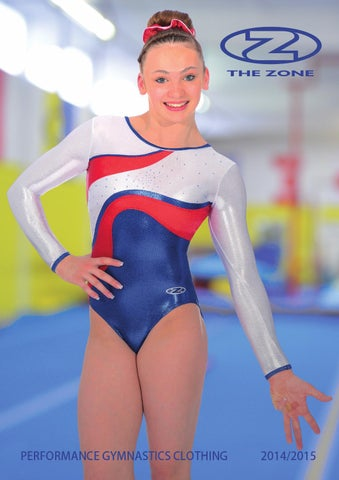 bcca565758e9 Zone gymnastics leotards catalogue 2014 -15 by Roch Valley Limited ...