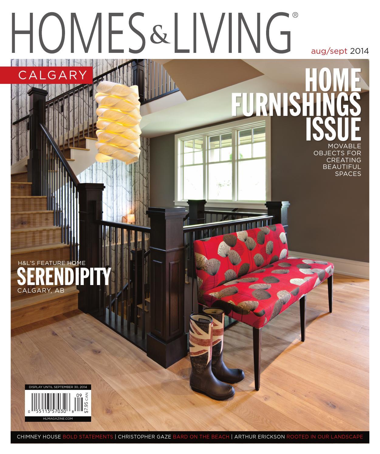 Homes Living Calgary August September 2014 Issue By Magazine HL