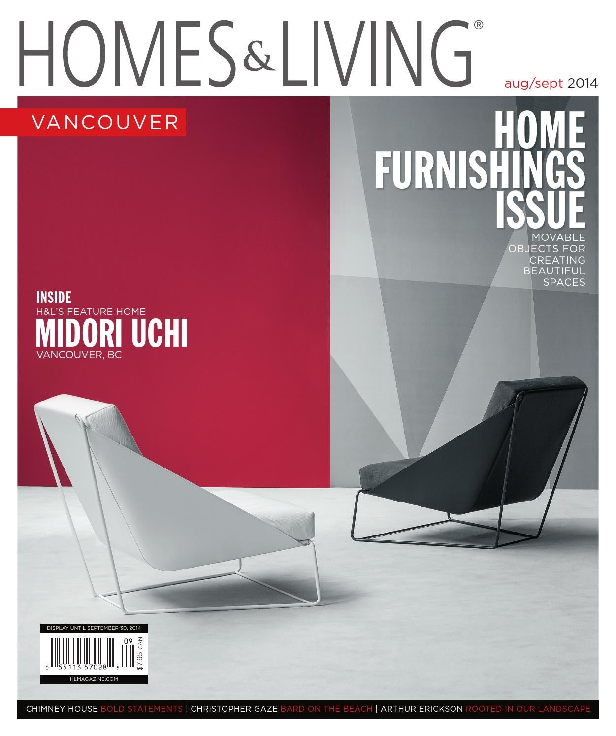 Vancouver Living: Homes & Living Vancouver August/September 2014 Issue By