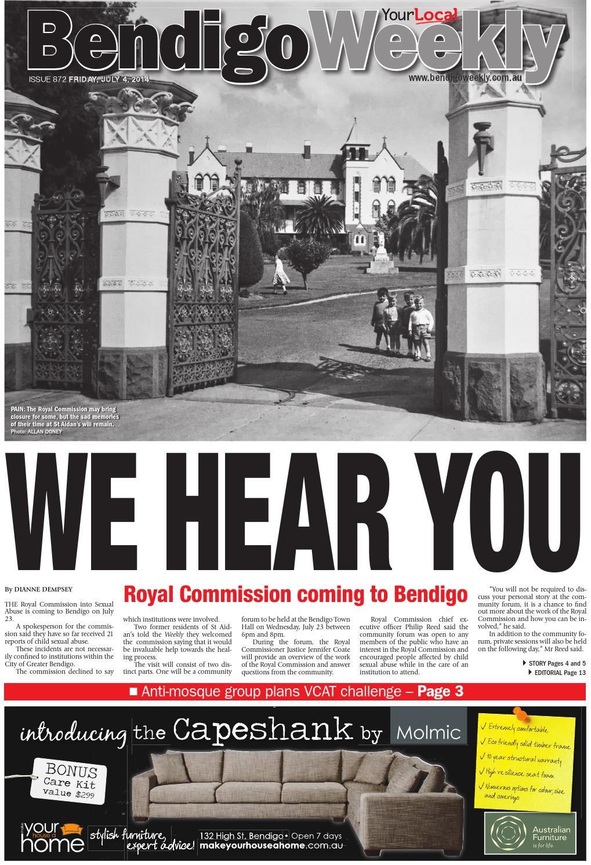 Bendigo weekly 872 by bendigo weekly issuu fandeluxe Images