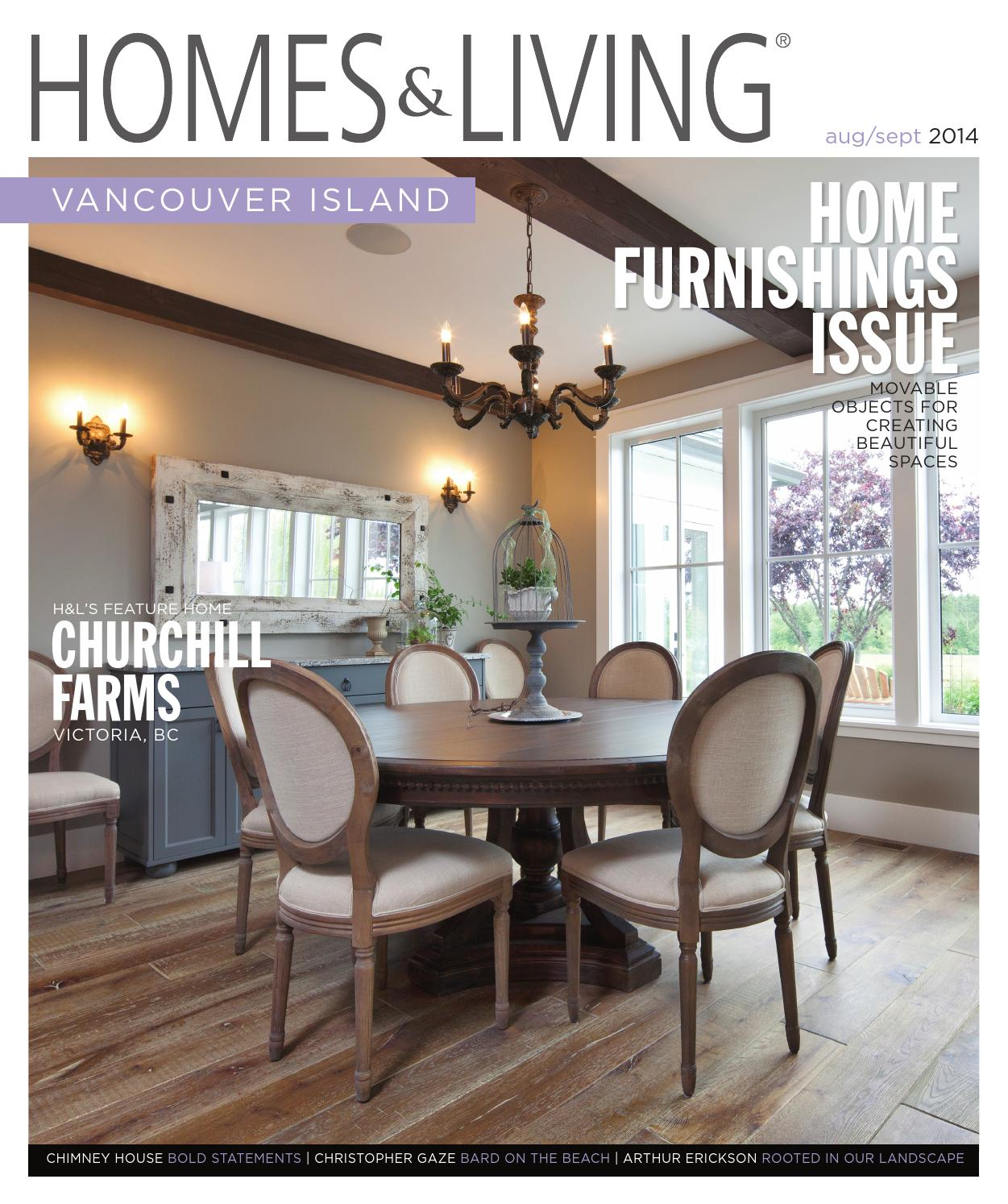 Homes Living Vancouver Island August September 2014 Issue