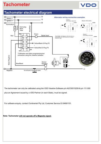 Viewline 20tachometer 20eng By Howard Instruments Issuu