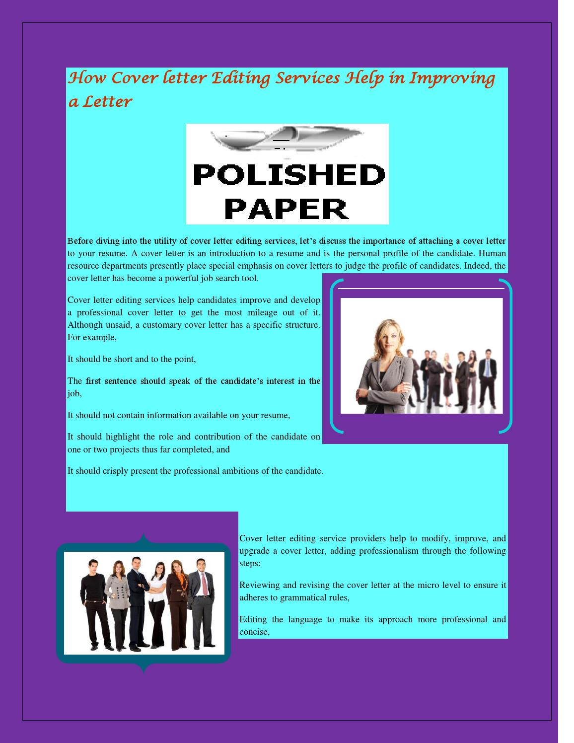 How cover letter editing services help in improving a letter by how cover letter editing services help in improving a letter by polished paper issuu madrichimfo Gallery