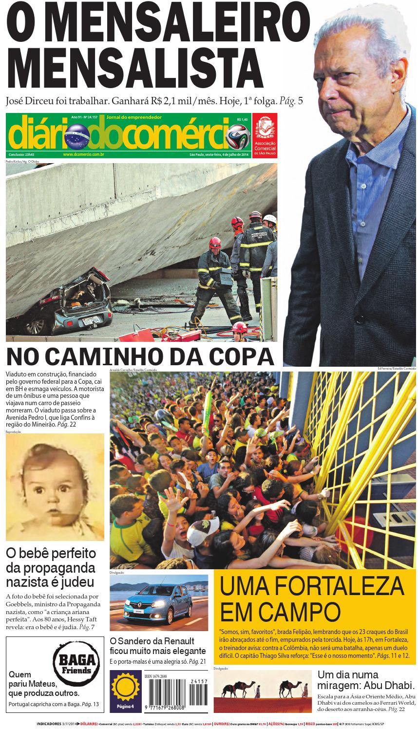 4e3e5c4201 Diário do Comércio - 04 07 2014 by Diário do Comércio - issuu