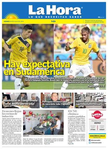 37f7c74ecb Diario La Hora Loja 04 de Julio 2014 by Diario La Hora Ecuador - issuu