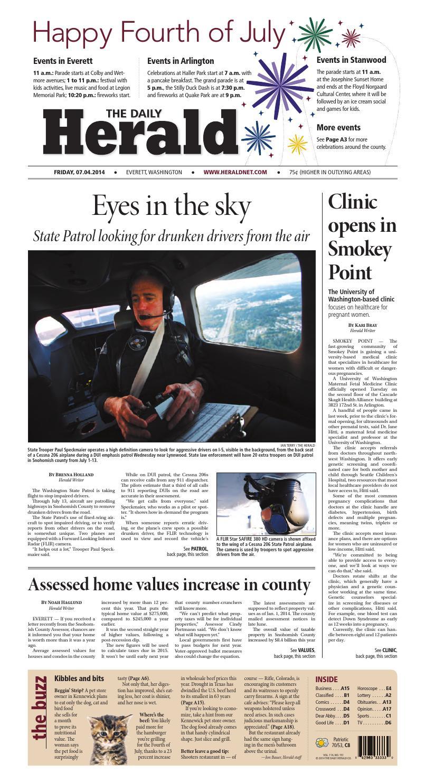 42b3b85f06 Everett Daily Herald, July 04, 2014 by Sound Publishing - issuu