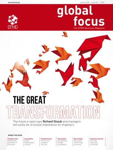 Efmd Global Focus Vol 08 Issue 02 By Efmd Issuu