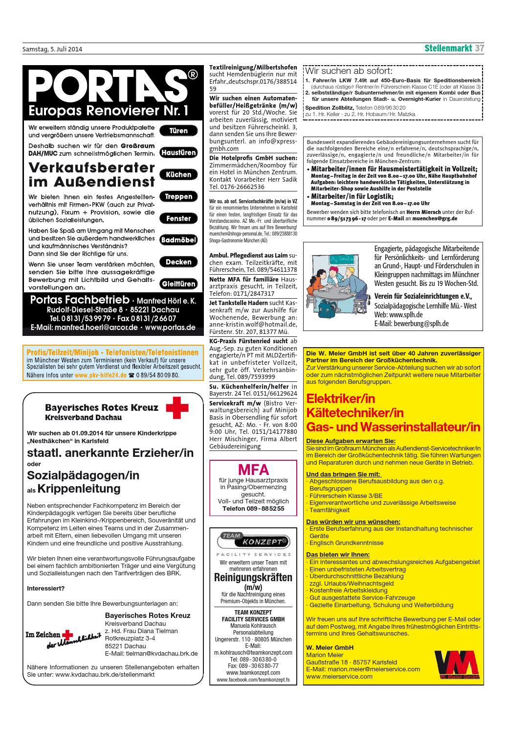 Kw 27 2014 By Wochenanzeiger Medien Gmbh Issuu