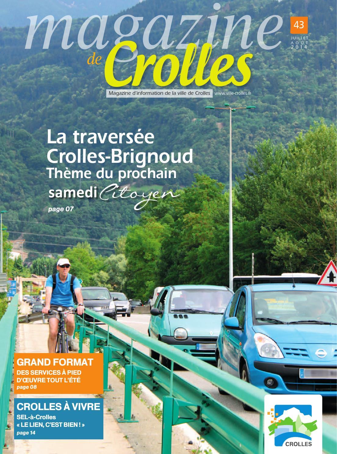 Juillet ao t 2014 by ville de crolles issuu for Piscine de crolles