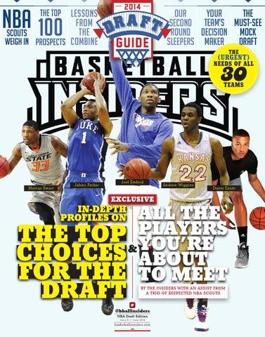 431b4b22bdcf 2014 NBA Draft Magazine