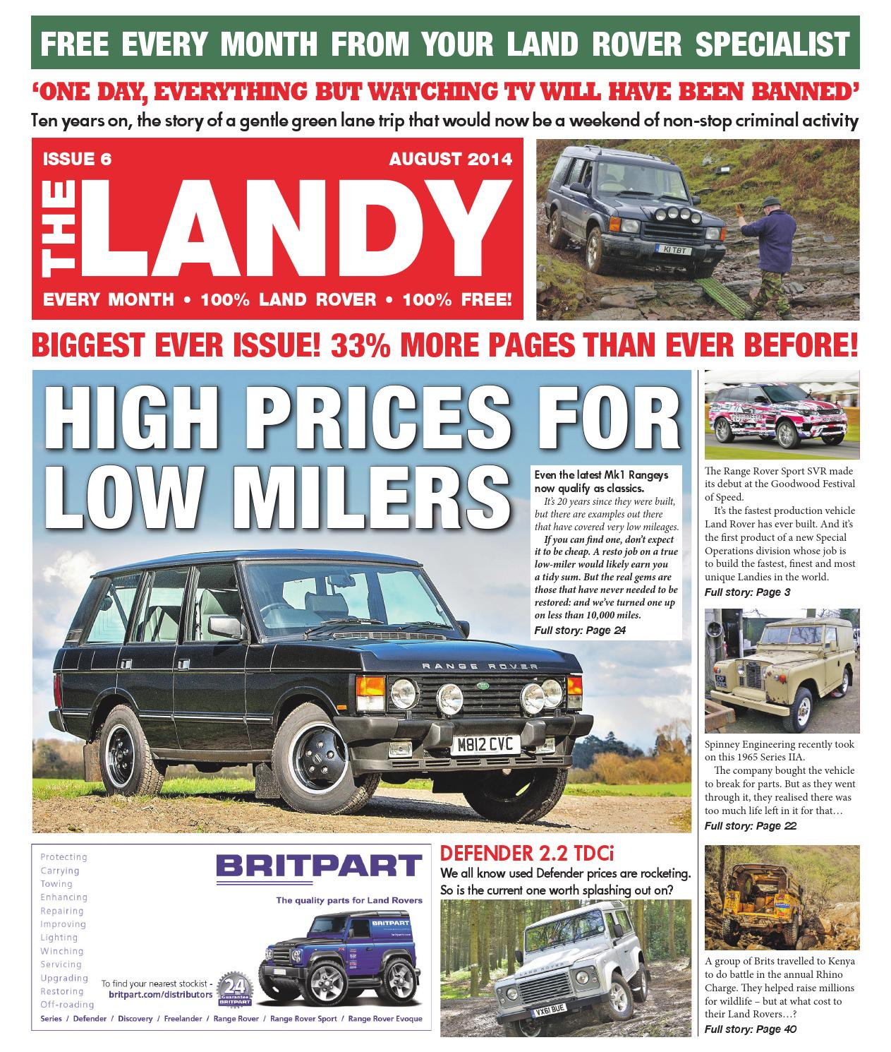 The Landy August 14 by Assignment Media Ltd - issuu
