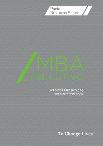 Mba executivo 2013 2014 livro de apresentao by porto business livro de apresentao presentation book fandeluxe Images