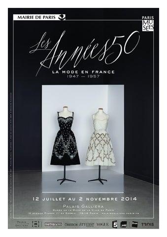 Les Années 50, la mode en France 1947-1957 au Musée Galliera du 12 ... a5424271f6a1