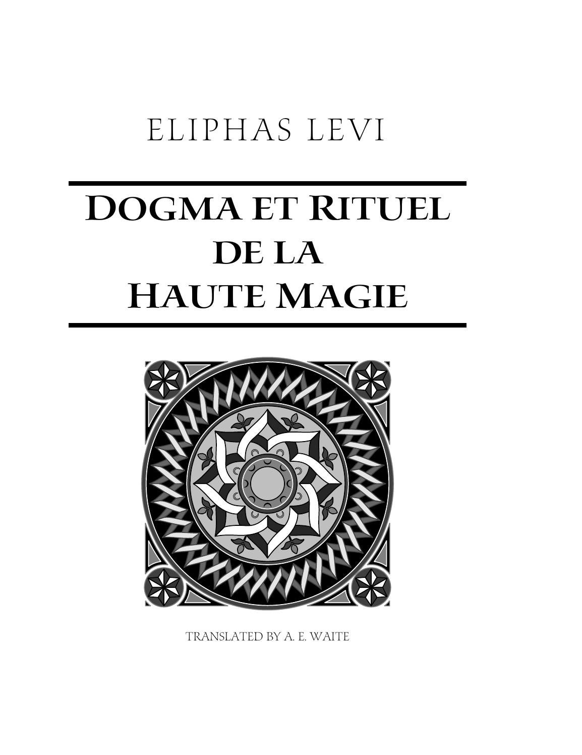 Eliphas levi the doctrine of transcendental magic cd2 id1693947022 size1094