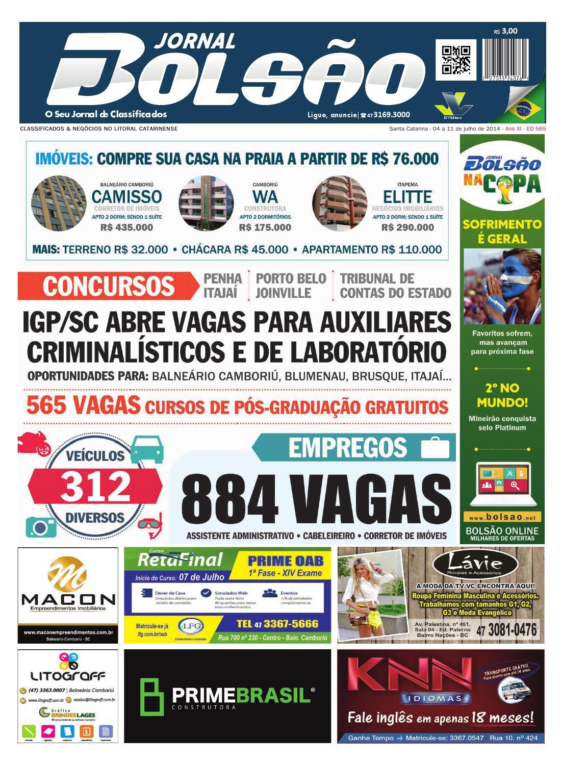 18fc56ea46 569 by Bolsão Jornal - issuu