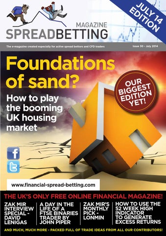 Financial spread betting examples of irony
