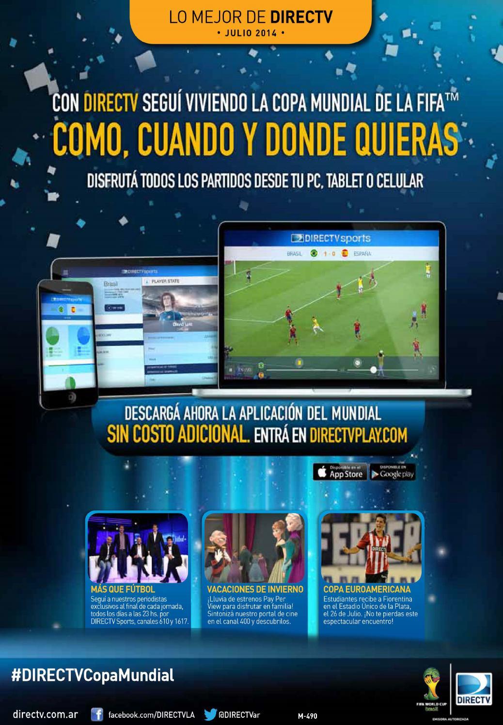 Newsletter DIRECTV Argentina by DIRECTV - Issuu