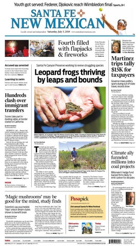 Santa Fe New Mexican, July 5, 2014 by The New Mexican - issuu