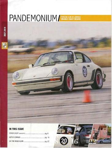 PCA-OCR Pandemonium - July 2014 by Porsche Club of America - Orange on porsche 924 interior, porsche carrera 4s, porsche 1960 models, porsche 904 road test, porsche c4s, porsche gt3, porsche gt2 rsr, porsche 2.7 rs engine, porsche cayman,