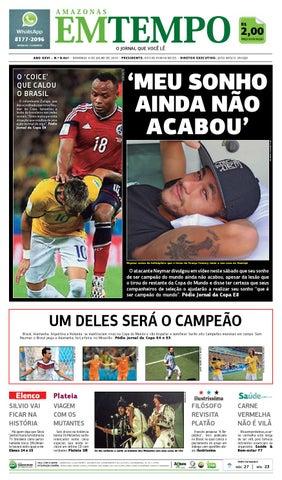 451a61ad3 EM TEMPO - 6 de julho de 2014 by Amazonas Em Tempo - issuu