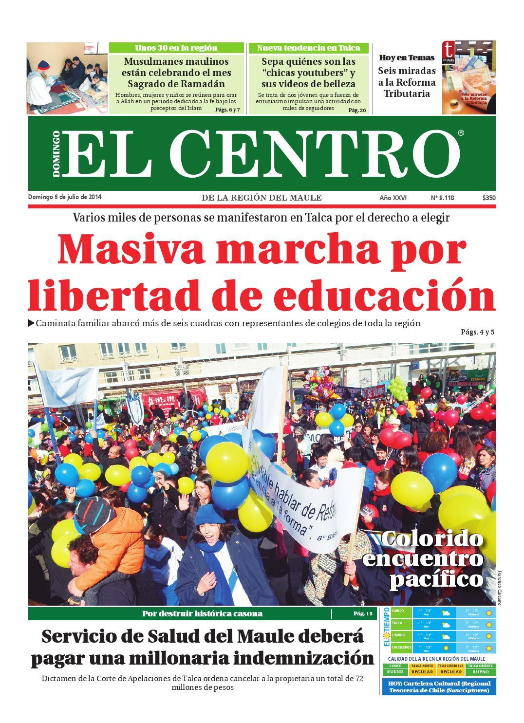 Diario 06-07-2014 by Diario El Centro S.A - issuu