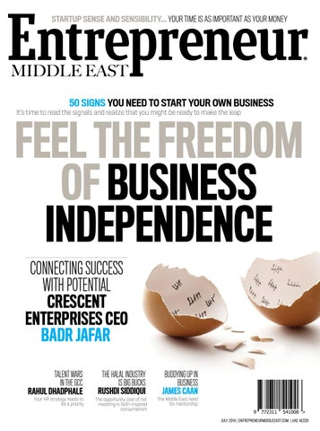 Entrepreneur middle east july 2014 the freedom of business page 1 sciox Gallery
